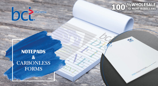 Notepads & Carbonless Forms